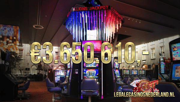 Mega Millions Jackpot Holland Casino gevallen in Utrecht