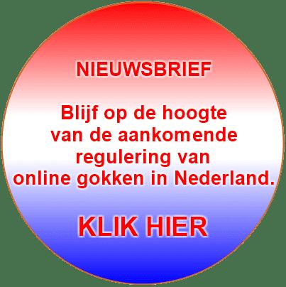 Nieuwsbrief regulering online gokken in Nederland